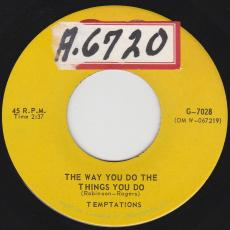 Temptations, The - The Way You Do The Things You Do