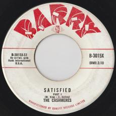 Cashmeres, The  [brooklyn] - Satisfied - Part I & Part Ii