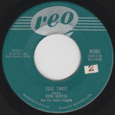 King Curtis And The Noble Knights - Soul Twist / Twisting Time  [dda-10-62]