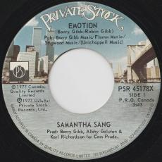 Sang, Samantha - Emotion / When Love Is Gone