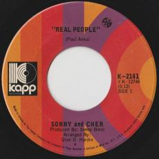 Sonny And Cher - Real People / Somebody