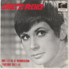Reno, Ginette - Don\'t Let Me Be Misunderstood [ Pic. Sleeve ]