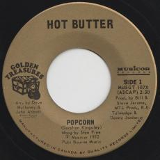 Hot Butter - Popcorn / At The Movies [ Golden Treasures Reissue ]