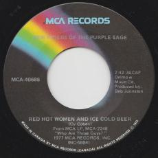 New Riders Of The Purple Sage - Love Has Strange Ways / Red Hot Women And Ice Cold Beer