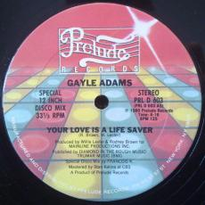 Adams, Gayle - Your Love Is A Life Saver
