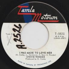 Wonder, Stevie - I Was Made To Love Her / Hold Me