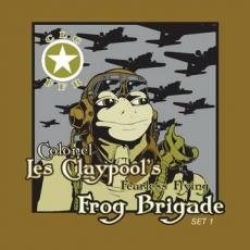 Colonel Les Claypool\'s Fearless Flying Frog Brigade - Blackfriday2019 - Colonel Claypool : Live At The Great American Music Hall ( 3lp / Green Vinyl / Gatefold )