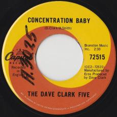 Dave Clark Five, The - Red And Blue / Concentration Baby