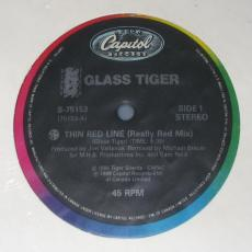 Glass Tiger - Thin Red Line ( Vg+ )