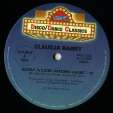 Claudja Barry - Boogie Woogie Dancing Shoes / Sweet Dynamite / Radio Action