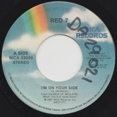 Red 7 - I\'m On Your Side / Under The Water