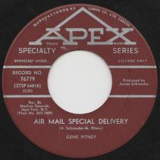 Pitney, Gene - Town Without Pity / Air Mail Special Delivery