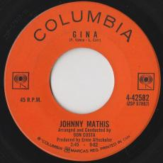 Mathis, Johnny - Gina / I Love Her That\'s Why