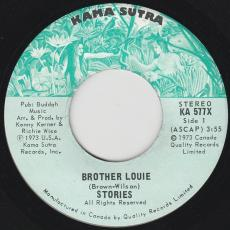 Stories  [ Usa / Rock ] - Brother Louie / Changes Have Begun