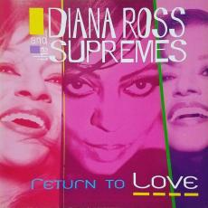 Ross, Diana & The Supremes - Return To Love [ Tour Book / Programme ]