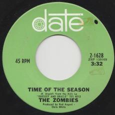 Zombies, The - Time Of The Season / Friends Of Mine [ Strong Vg ]