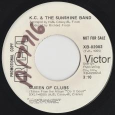 K.C. & The Sunshine Band - Queen Of Clubs / Do It Good  [ Promo ]
