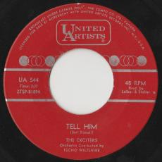 Exciters, The - Tell Him / Hard Way To Go  ( Vg+ )
