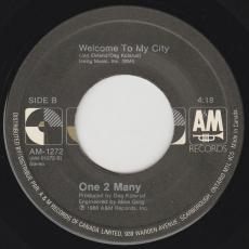 One 2 Many - Downton / Welcome To My City