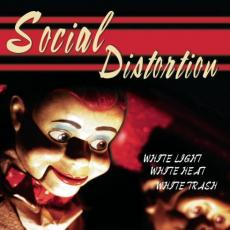 Social Distortion - White Light White Heat White T